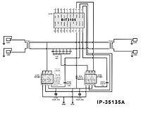 Схема инвертора на bit3105.