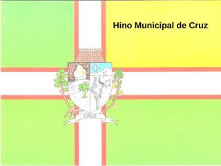 Hino Municipal Apresentação.ppt