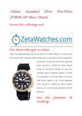 Citizen Aqualand Diver Eco-Drive JV0020-21F Men's Watch.pdf