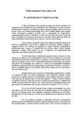 Biblia Ecumênica (pergunta) Isto é contra a Fé! - Padre Joao Batista de a Prado Ferraz Costa.pdf