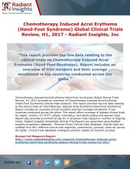 Chemotherapy Induced Acral Erythema (Hand-Foot Syndrome) Global Clinical Trials Review, H1, 2017 - Radiant Insights.pdf