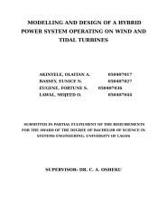 MODELLING AND DESIGN OF A HYBRID POWER SYSTEM OPERATING ON WIND AND TIDAL TURBINES.doc