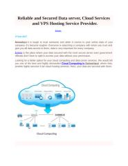 Reliable and secured Data server.pptx