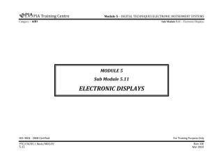 B1.1 Module 5 (Digital Techniques & Electronic Instrument System) Sub Module 5.11 (Electronic Disp) Rev 00.pdf