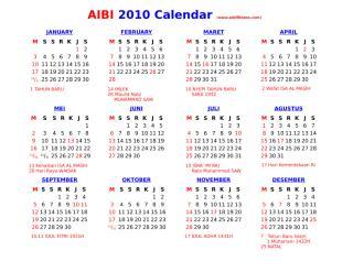 kalender 2010 (+ libur indonesia).doc