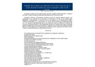 NOM Atencion de la mujer durante el embarazo parto y puerper.pdf