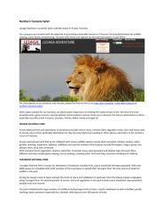 Northern Tanzania Safari.pdf