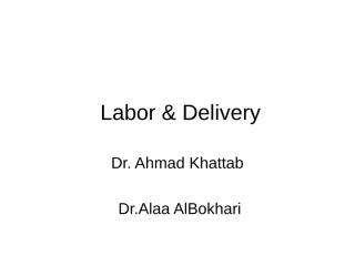 Labor & Delivery.ppt