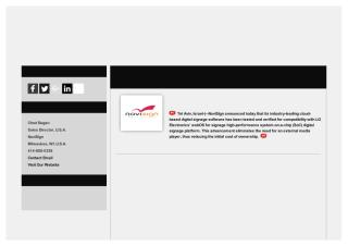 NoviSign's Digital Signage Software Now Compatible with LG webOS Commercial Displays.pdf