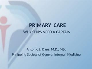 2013-10-03 Primary Care for LU5.ppt