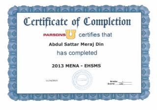 Diploma in 2013 MENA - EHSMS.pdf