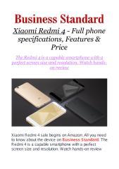 Xiaomi Redmi 4 - Full phone specifications, Features & Price.pdf