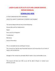 LASER CLASS 3170 3175 3175 MS CANON SERVICE REPAIR MANUAL.pdf
