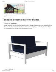 Sencillo Loveseat exterior Blanco.pdf