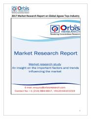 2017 Market Research Report on Global Jigsaw Toys Industry.pdf
