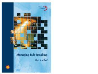 Presentation Mangaing Rule Breaking .ppt